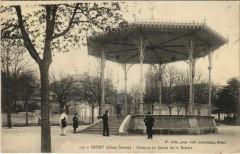 Niort Kiosque du Jardin de la Breche - Ardin