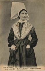 Saint-Varent Costume du Pays - La Grande Coiffe - Saint-Varent