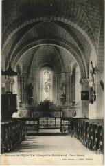 La Chapelle-Bertrand Interieur de l'Eglise - La Chapelle-Bertrand