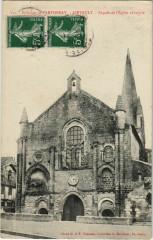 Airvault Facade de l'Eglise Abbatiale - Environs De Parthenay - Airvault