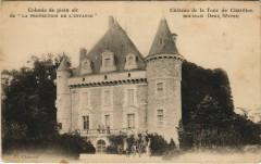 Boussais Chateau de la Tour de Chatillon - Boussais