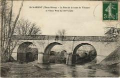 Saint-Varent Le Pont de la Route de Thouars et Vieux Pont - Saint-Varent