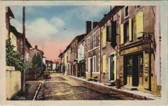 Lezay Rue du Pont de l'Arceau - Lezay