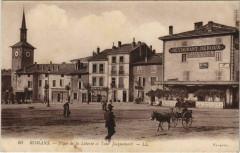Romans Place de la Liberte et Tour Jacquemart - Rom