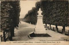 Saint-Maixent-l'Ecole Promenade et Statue Antonin Proust - Rom