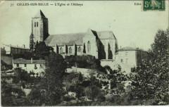 Celles-sur-Belle L'Eglise et l'Abbaye - Celles-sur-Belle