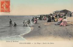 Fos Sur Mer La Plage Sortie Des Bains - Fos-sur-Mer