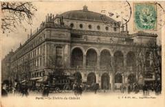 Le Théâtre du Châtelet - Paris 1er