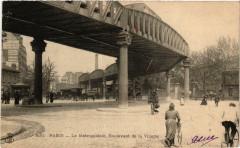 Le Métropolitain, Boulevard de la Villette - Paris 19e