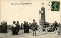Buttes Chaumont - Les Quatres Points Cardinaux - Paris 19e