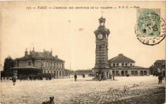 L'horloge des Abattoirs de la Villette - Paris 19e