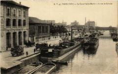 Le Canal Saint-Martin à la rue de Crimée - Paris 19e