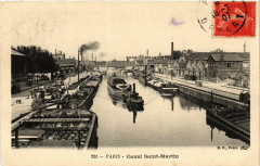 Canal Saint-Martin 75 Paris 19e