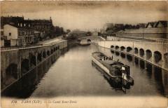 Le Canal Saint-Denis 75 Paris 19e