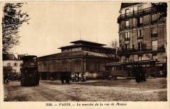Le marché de la rue de Meaux 75 Paris 19e