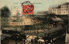La Place des Fêtes - Paris 19e