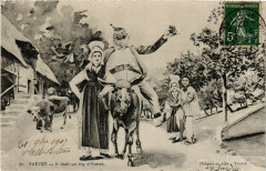 Yvetot Il etait un roy d'Yvetot France Folklore France