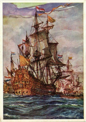 Zeven Provincien - Het beroemde Admiraalschip - Ships France