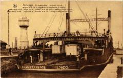 Zéebrugge Le Ferry-Boat Ships France