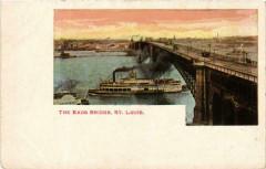 The Eads Bridge Saint-Louis Ships France