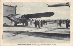 13 Marignane Aviation L'Arrivee Du Courrier De Paris (cliché pas courant - Marignane