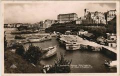 Biarritz Eglise Sainte-Eugenie et Hotel d'Angleterre France - Anglet