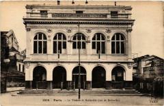 Le Théâtre de Belleville (rue de Belleville) - Paris 20e