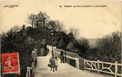 Buttes Chaumont, le Belvédère - Paris 19e