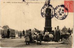 Les Buttes Chaumont - Les Quatre Points Cardinaux - Paris 19e