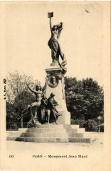 Monument Jean Macé 75 Paris 19e