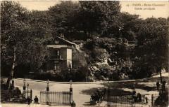 Buttes Chaumont - Entrée principale 75 Paris 19e
