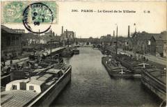 Le Canal de la Villette 75 Paris 19e