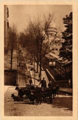 Les petits Tableaux de Paris 18e Le Chevrier de Montmartre 75 Paris 18e