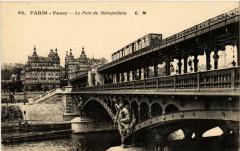Passy - Le Pont du Métropolitain - Paris 15e