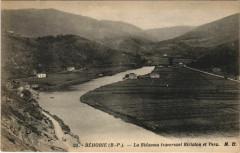 Behobie La Bidassoa traversant Biriatou et Vera France - Biriatou