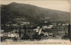 St.Jean Pied de Port Vue d'Ispoure France - Ispoure