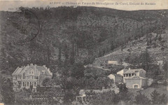 Alzon Chateau Et Ferme De Monseigneur Du Curel Eveque Monaco - Alzon