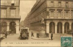 La Rue des Pyramides - Statue de Jeanne d'Arc - Paris 1er