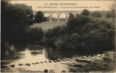 Genouillac Les Bords de la Petite Creuse et le Viaduc - Genouillac