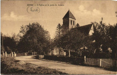 Aizier L'Eglise et le Poste de Douane 27 Aizier