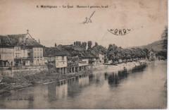 Le Quai Maisons à galeries, le sol - Montignac