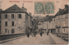 Place Nationale - Montignac