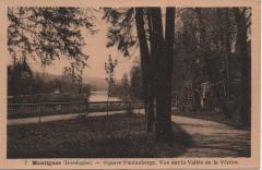 Square Pautauberge. Vue sur la vallée de la Vézère - Montignac