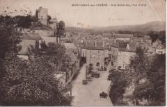 Vue générale, rive droite - Montignac
