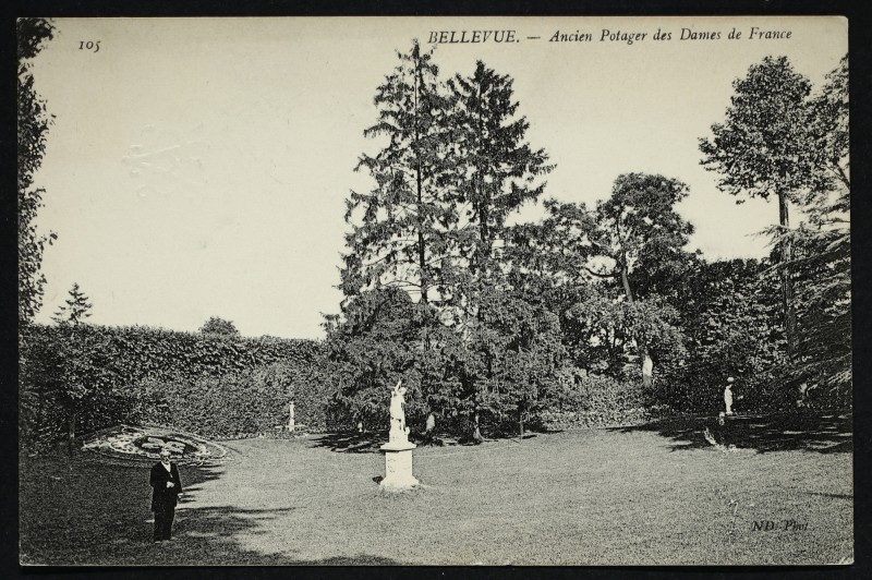 Carte postale ancienne Ancien Potager des Dames de France à Meudon