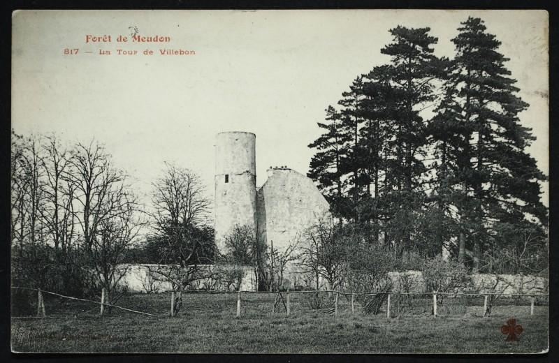 Carte postale ancienne Forêt de Meudon - La Tour de Villebon à Meudon