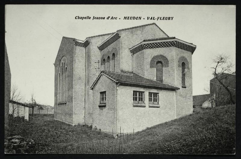 Carte postale ancienne Chapelle Jeanne d'Arc - Val Fleury à Meudon