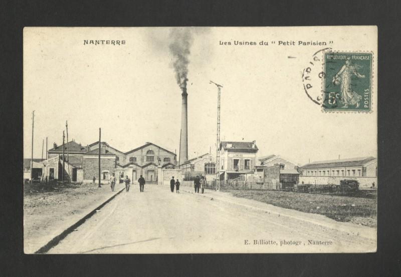 Carte postale ancienne Les Usines du