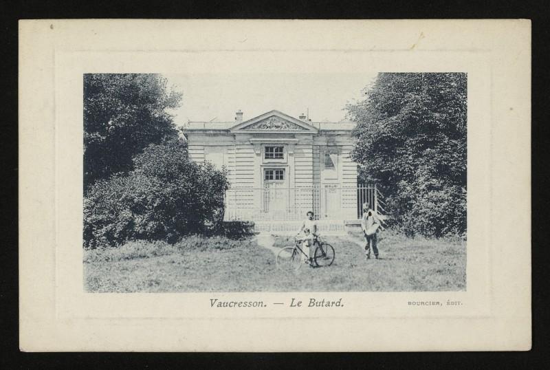 Carte postale ancienne Le Butard à La Celle-Saint-Cloud