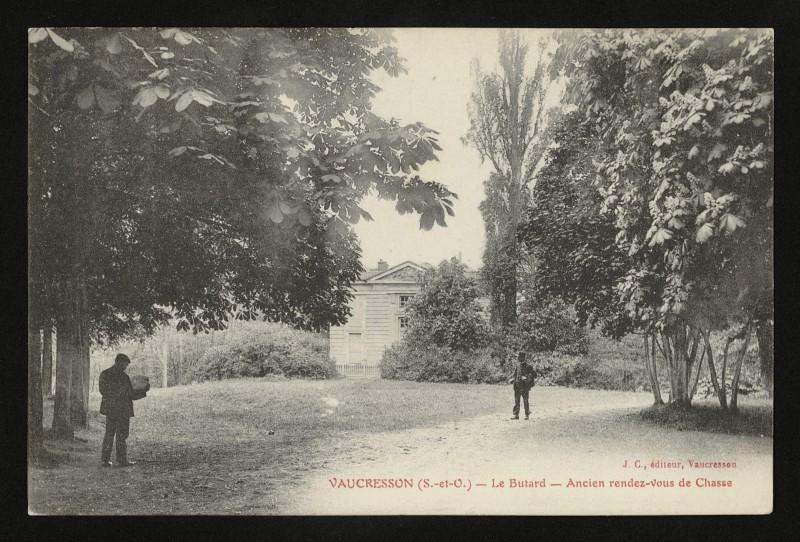 Carte postale ancienne Ancien rendez-vous de Chasse à La Celle-Saint-Cloud